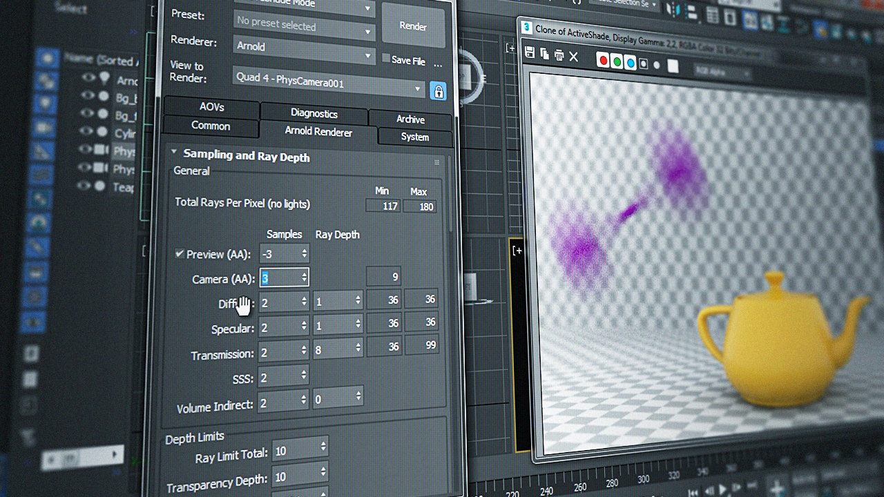 Fundamentals of Arnold for 3ds Max | Pluralsight