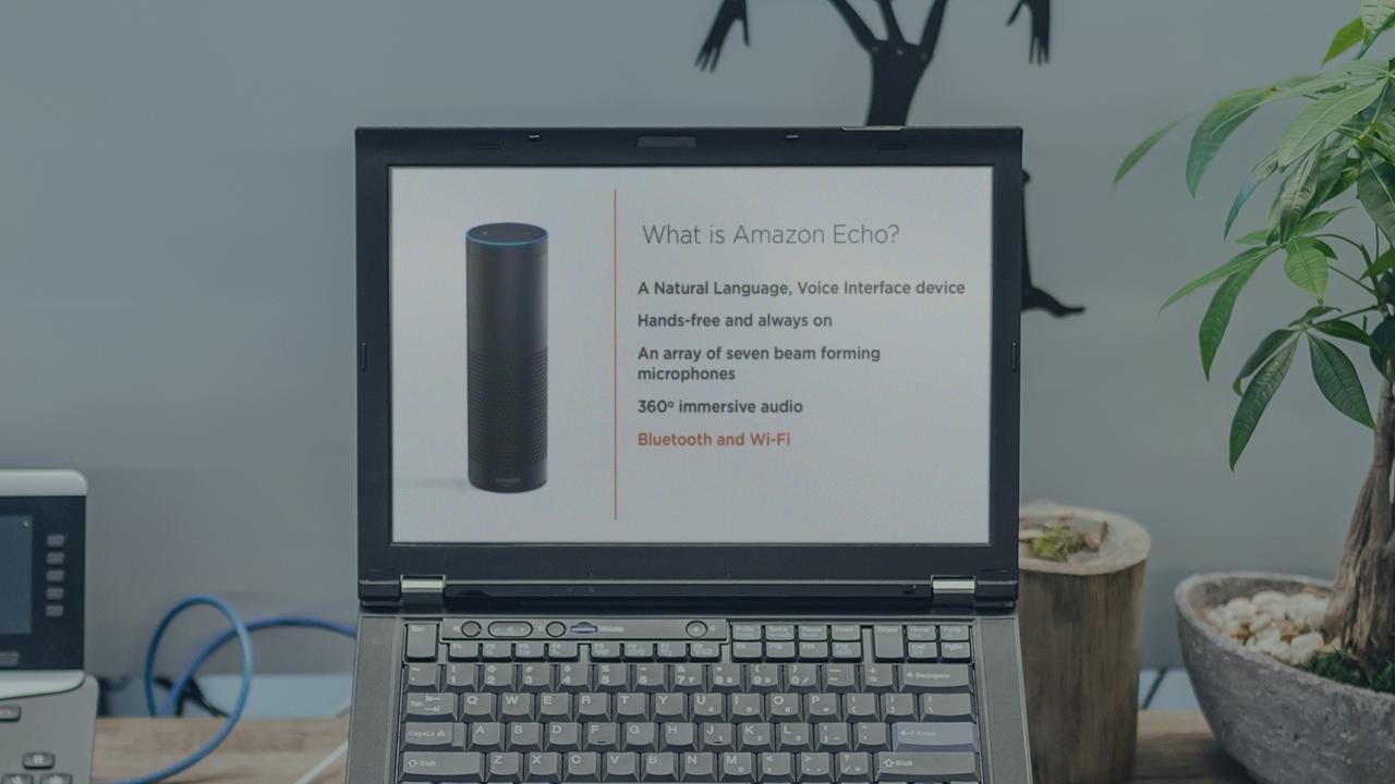 Developing Alexa Skills for Amazon Echo | Pluralsight