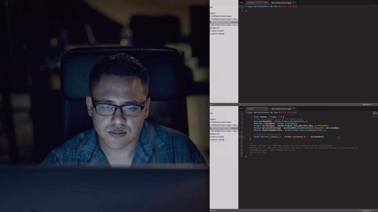 Salesforce Course: Coding Techniques | Pluralsight