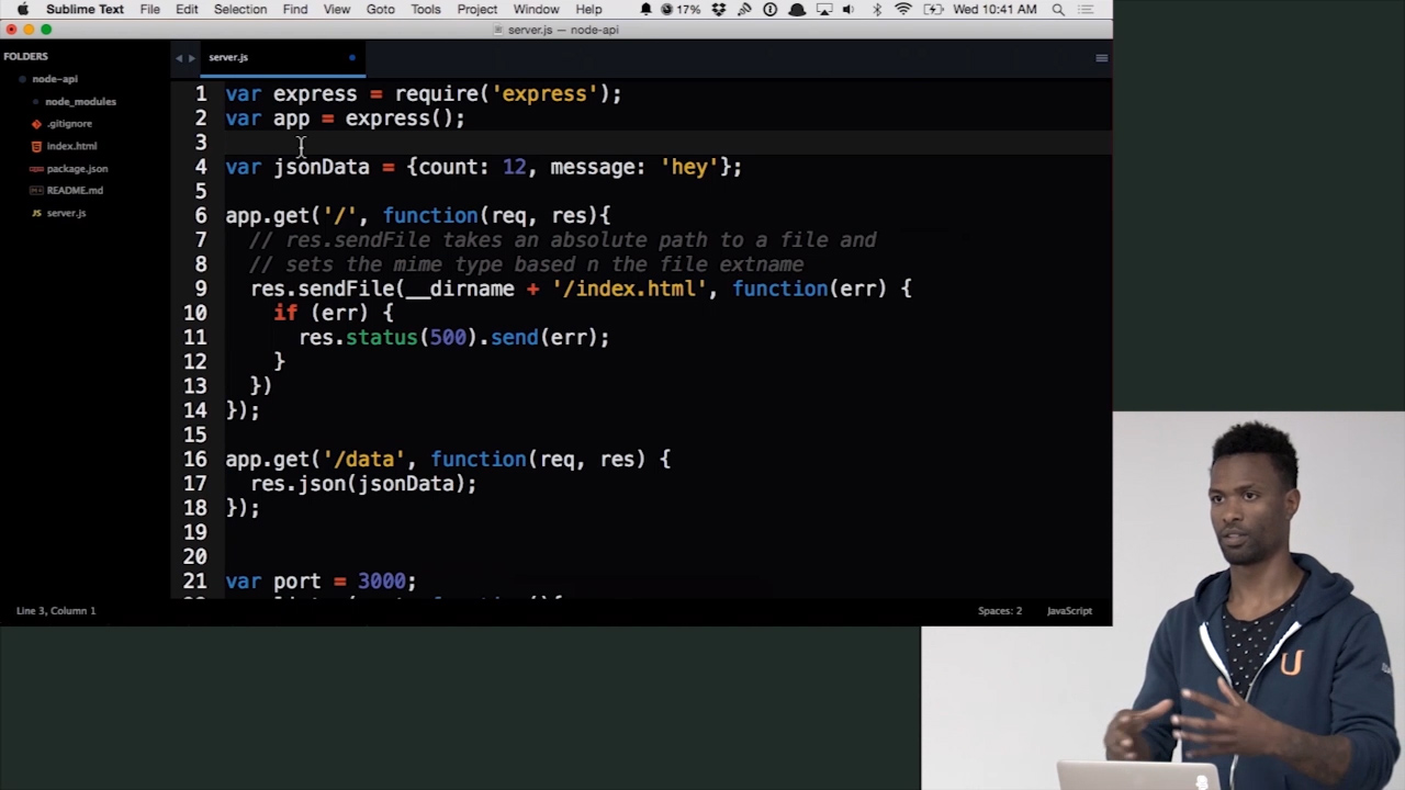 API Design in Node js Featuring Express & Mongo | Pluralsight