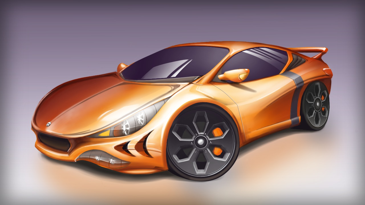 Creating Automotive Concepts in SketchBook Pro | Pluralsight