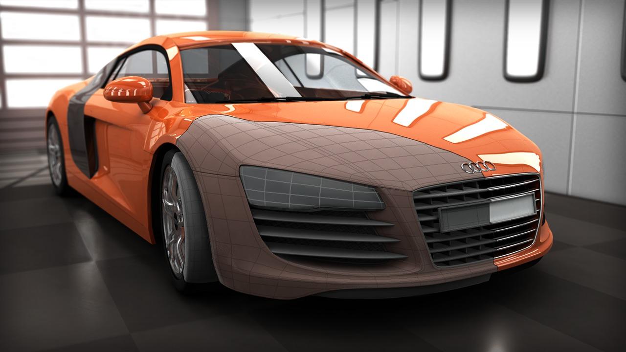 Game Car Modeling Tutorial