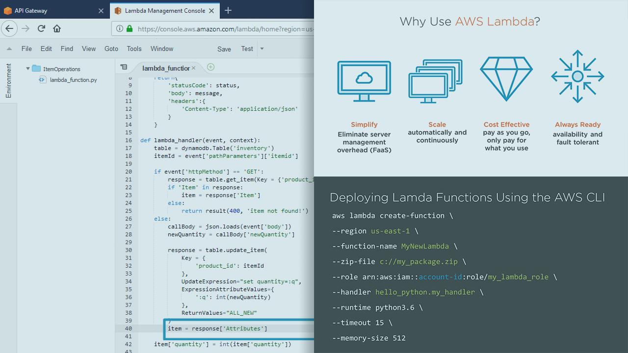 Create Serverless Applications With AWS Lambda | Pluralsight