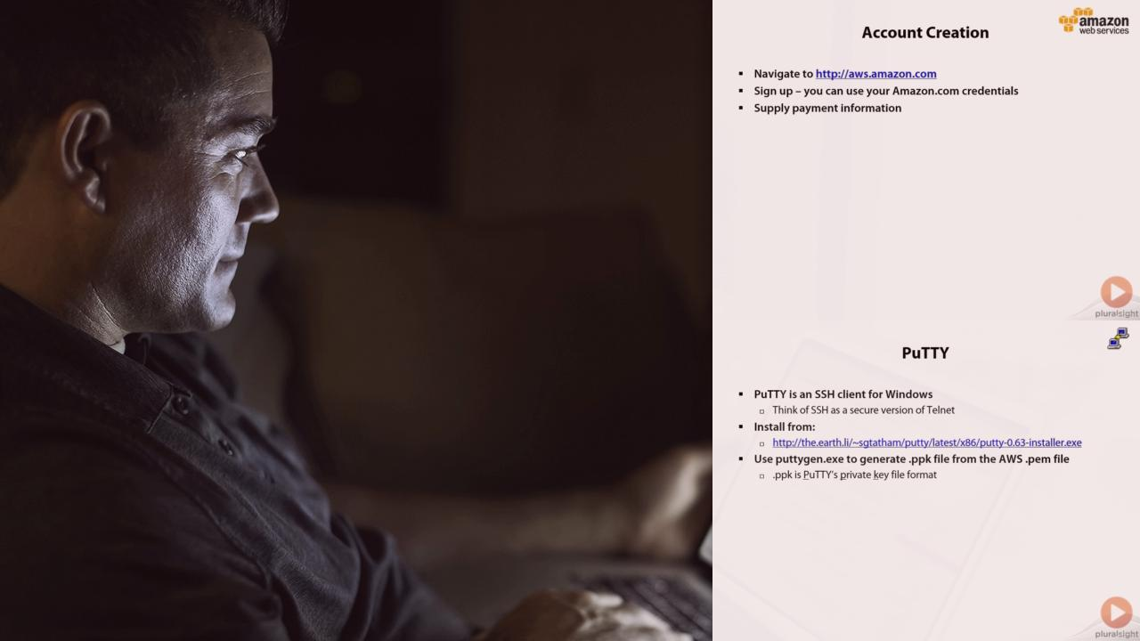 Big Data on Amazon Web Services | Pluralsight