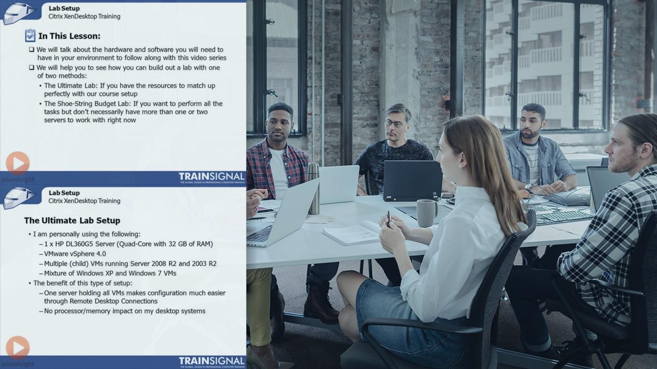 Citrix XenDesktop 5: Provisioning Server   Pluralsight