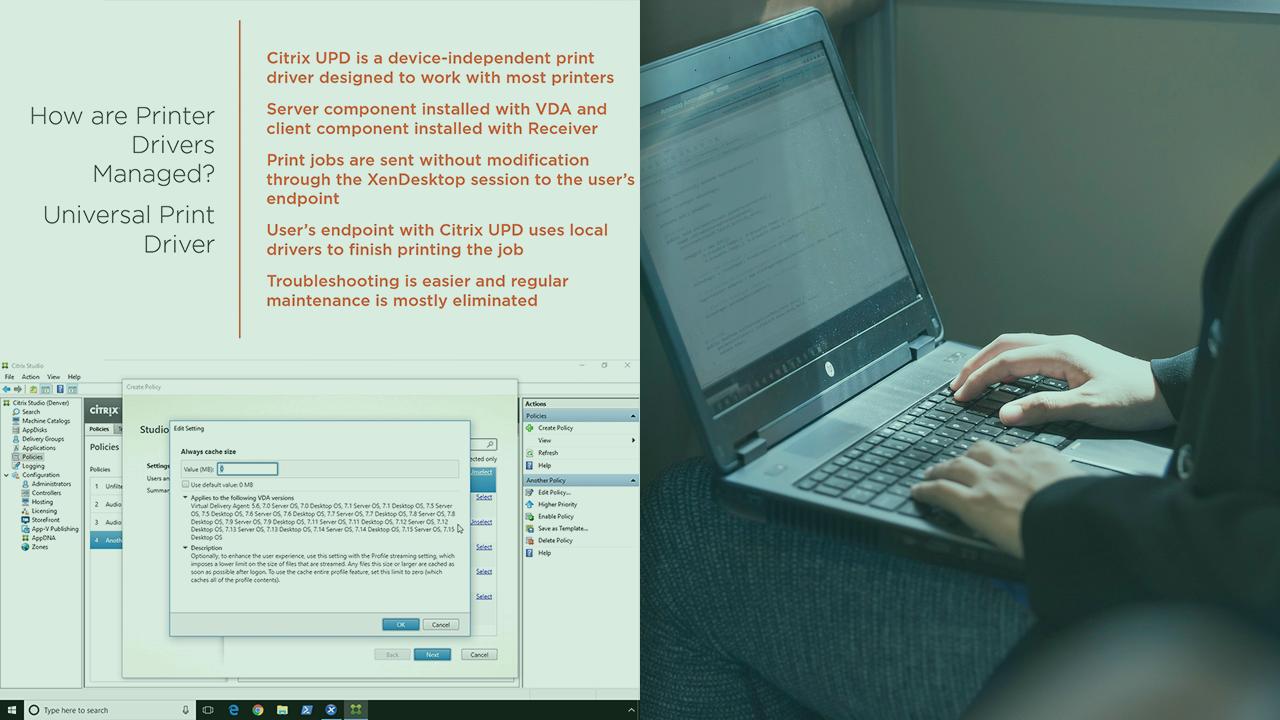 Citrix XenDesktop 7 15 LTSR: Policies & Profiles | Pluralsight