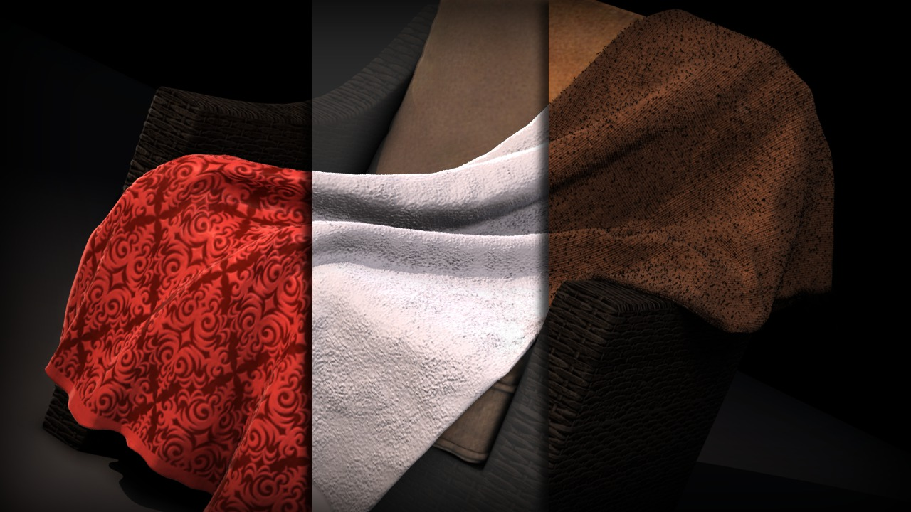 Cloth texture zbrush