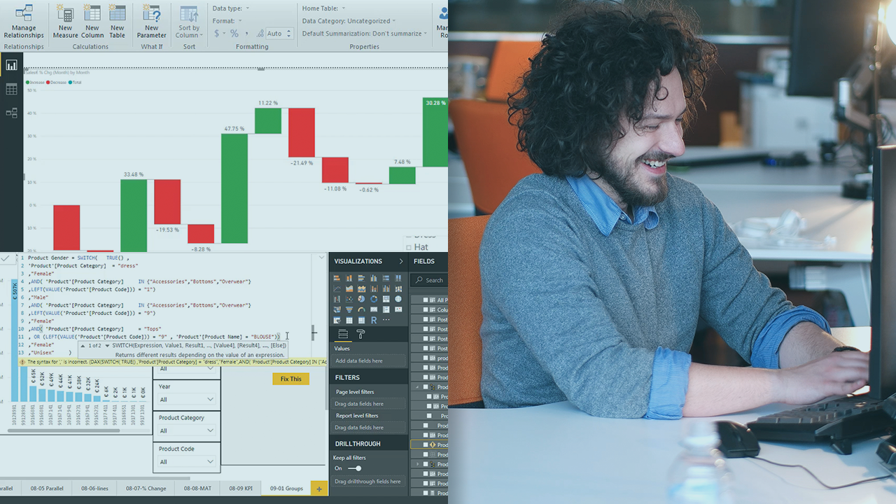 Common DAX Expressions and Scenarios Power BI Playbook | Pluralsight