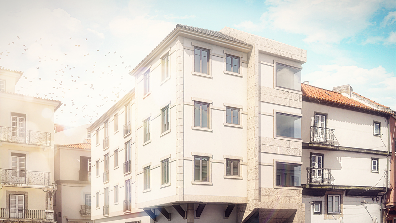 Compositing a 3D Architectural Rendering in Photoshop and