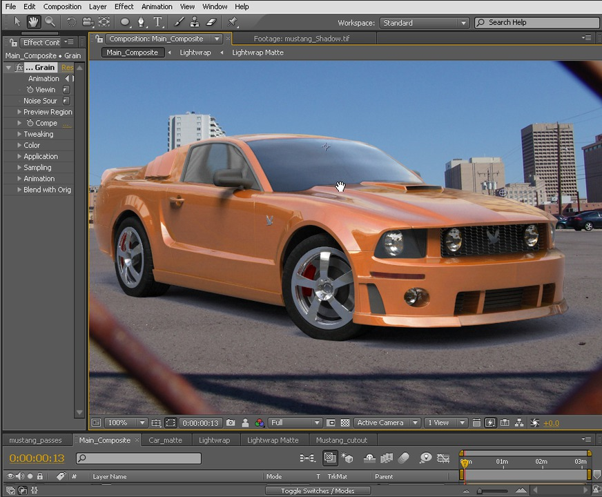 Compositing 3D Renders in After Effects | Pluralsight