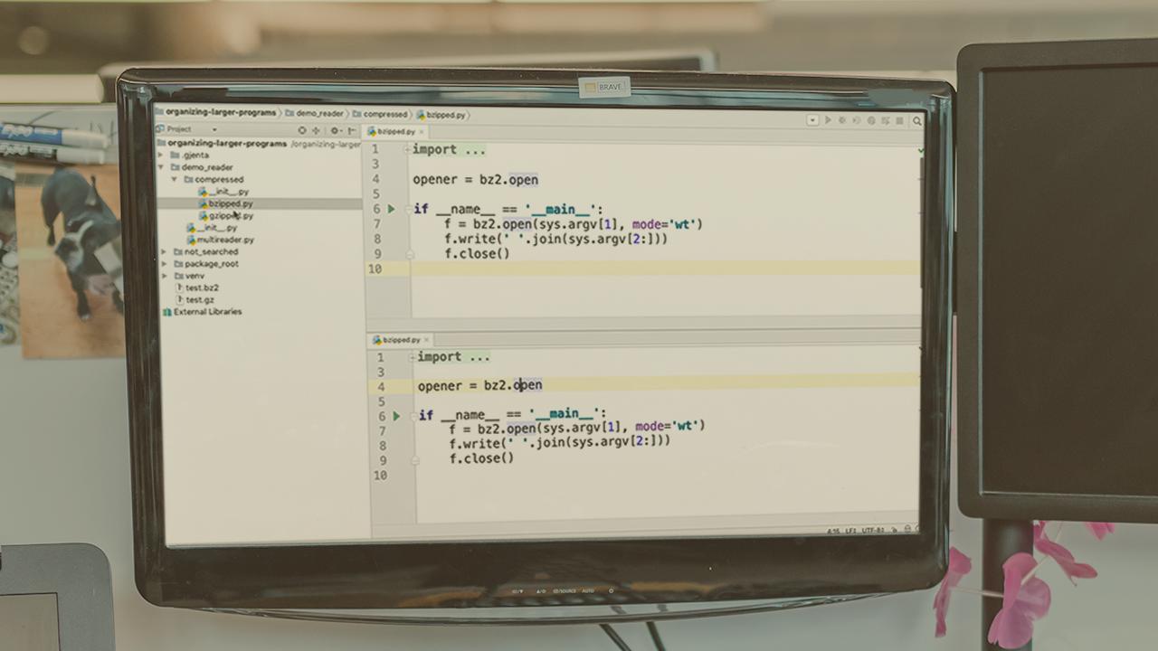 Core Python: Organizing Larger Programs | Pluralsight