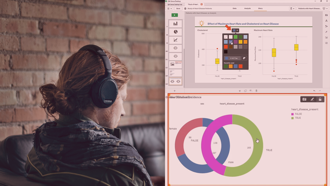 Creating Data Stories with Qlik Sense | Pluralsight