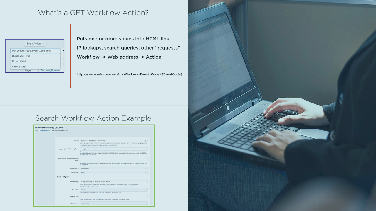 Creating Workflow Actions in Splunk | Pluralsight