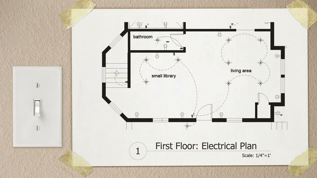 drawing electrical plans in autocad pluralsight. Black Bedroom Furniture Sets. Home Design Ideas
