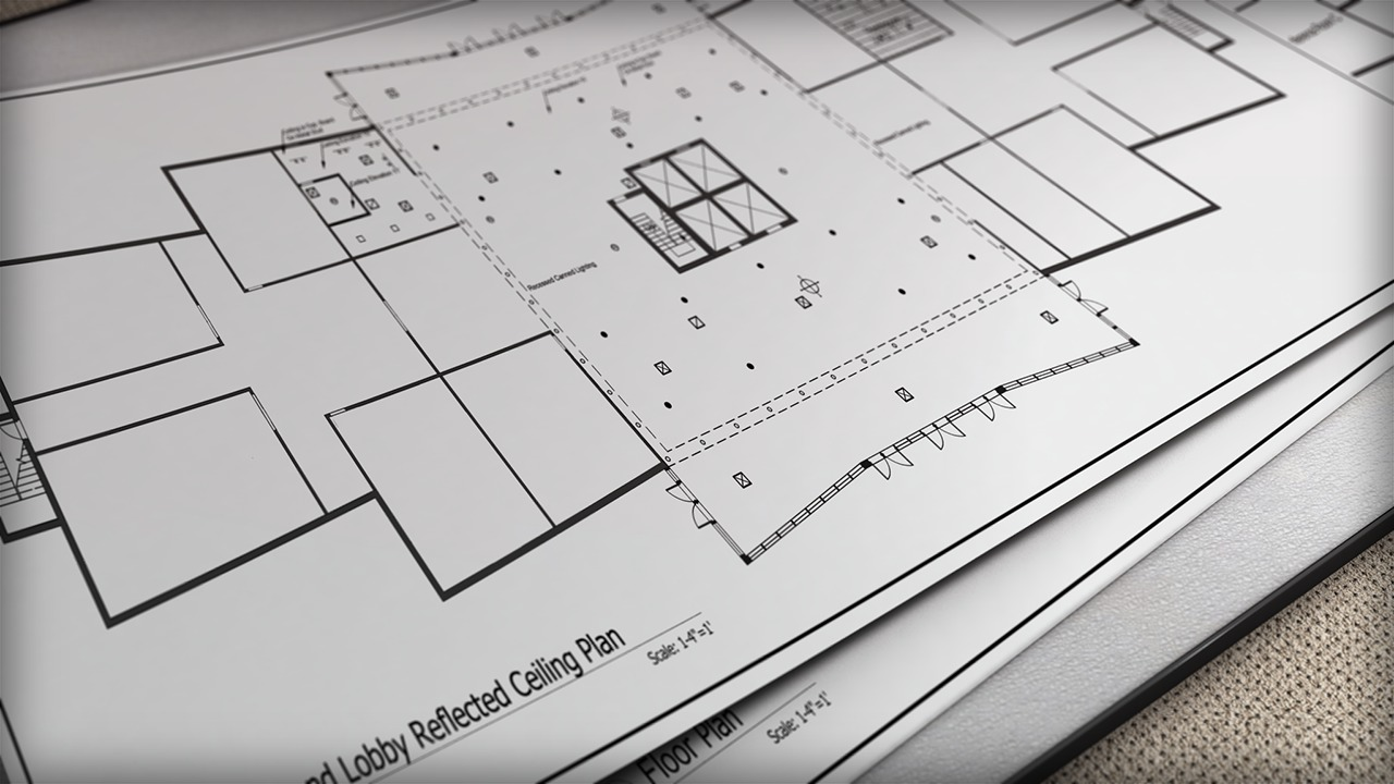 Drawing Reflected Ceiling Plans In Autocad Pluralsight Hvac Legend