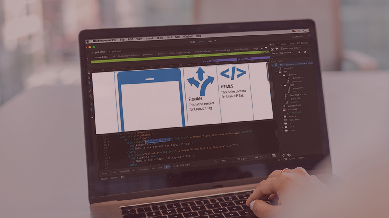 Dreamweaver CC Responsive Design with Bootstrap | Pluralsight