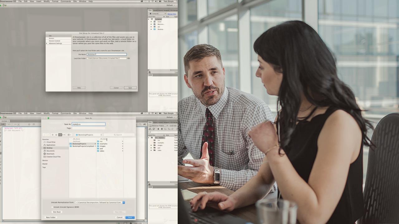 Dreamweaver CC Responsive Design with Bootstrap | Pluralsight