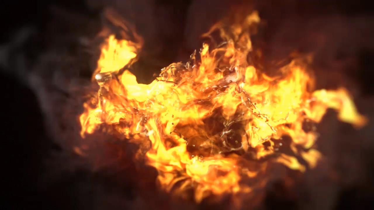 Creating a Dynamic Burning Logo in CINEMA 4D and TurbulenceFD