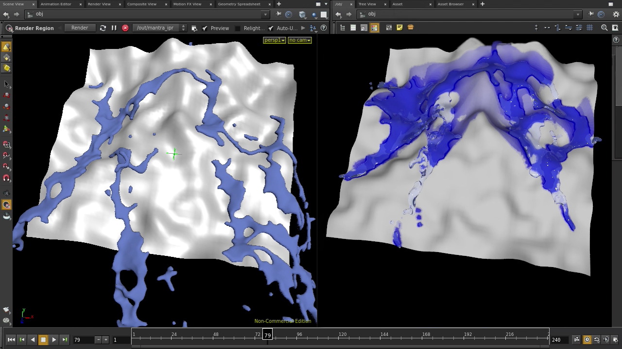 Creating a Dynamic Wet Map Shader in Houdini | Pluralsight
