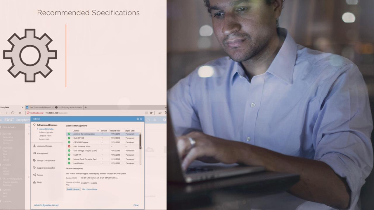 EMC® Unity™ Virtual Storage Appliance - Deploy and Configure