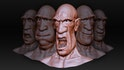 Exaggerated Facial Expressions in ZBrush and Maya