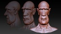 Exaggerated Facial Modeling in Maya and ZBrush