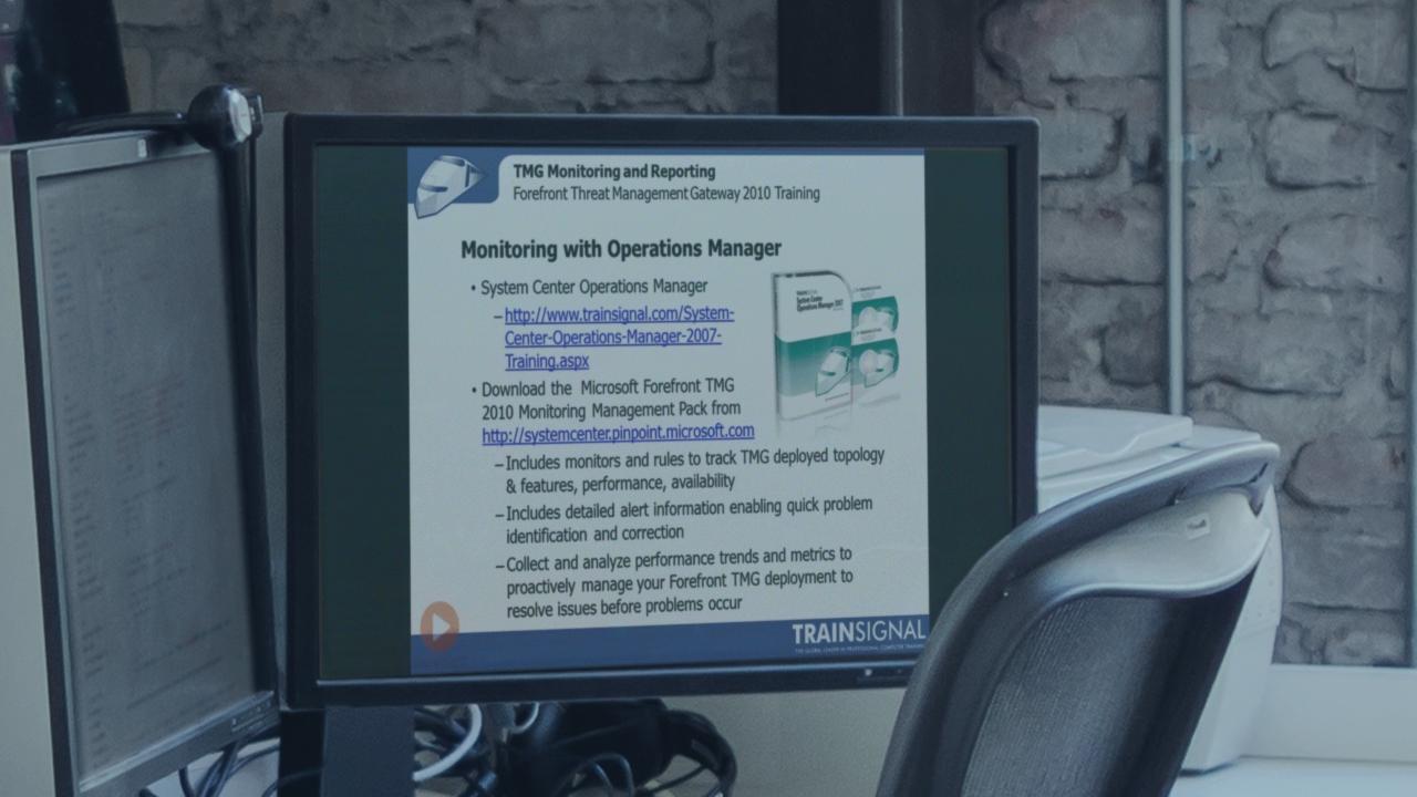 trainsignal forefront threat management gateway