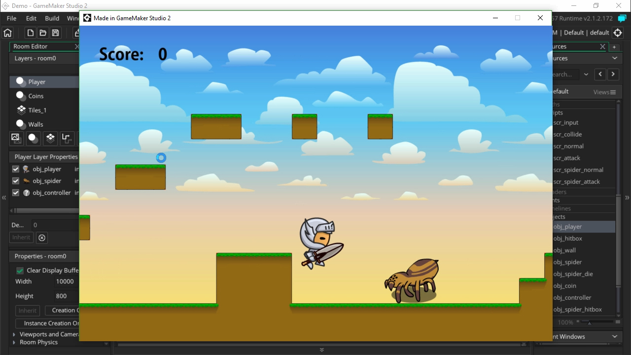 Making Your First Game In Game Maker Studio Pluralsight - Game maker
