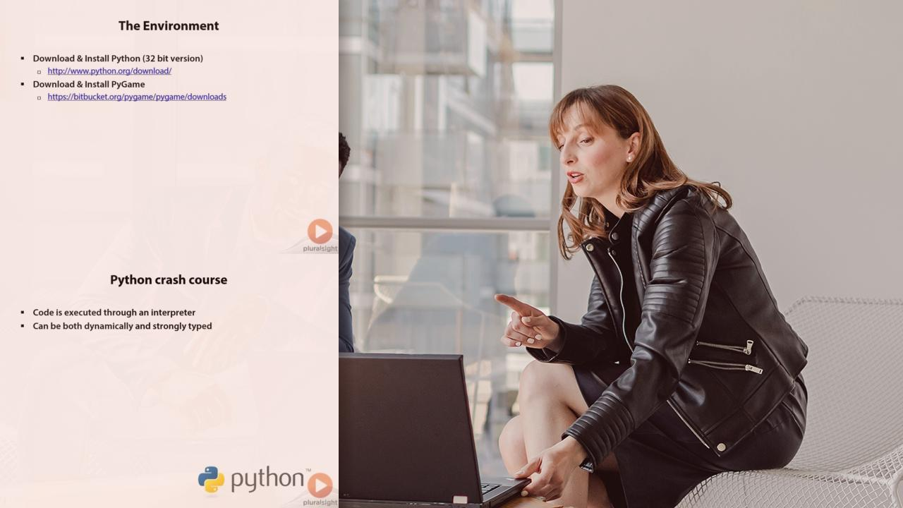 Game Programming with Python and PyGame | Pluralsight
