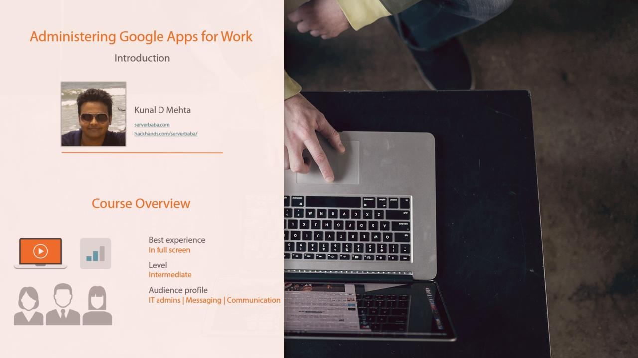 Administering Google Apps For Work Pluralsight