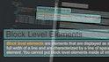 HTML Document Flow