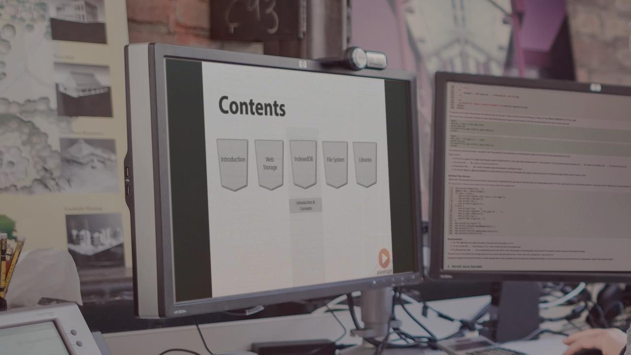 HTML5 Web Storage, IndexedDB and File System | Pluralsight