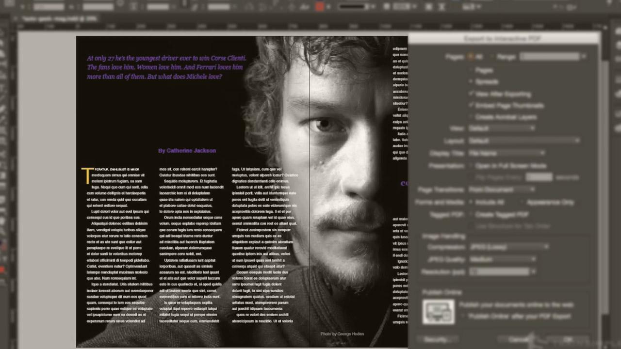 InDesign CC Interactive PDF | Pluralsight