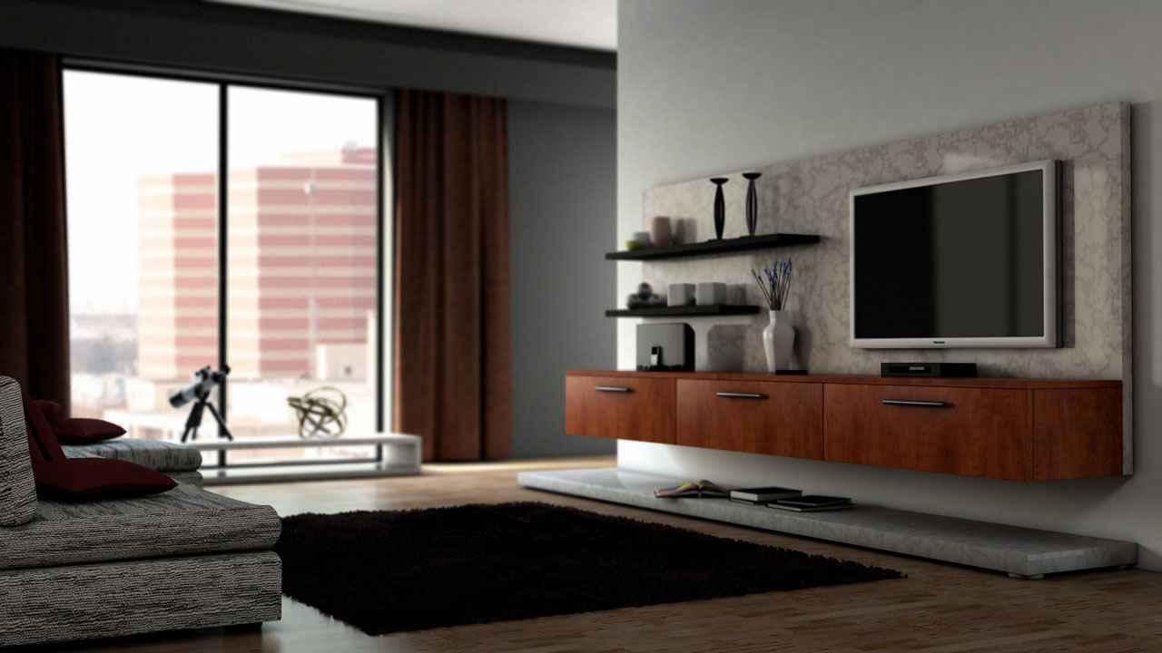 Interior rendering techniques with mental ray and 3ds max for Interior decoration in 3d max