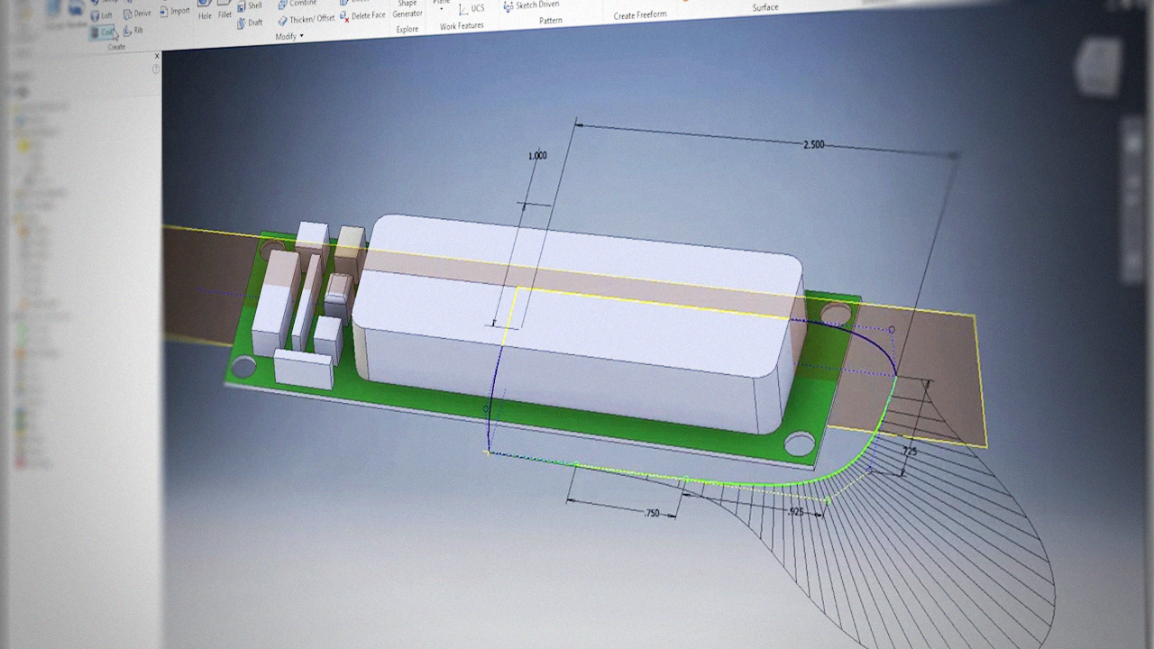 Getting Started with Inventor Surface Modeling | Pluralsight
