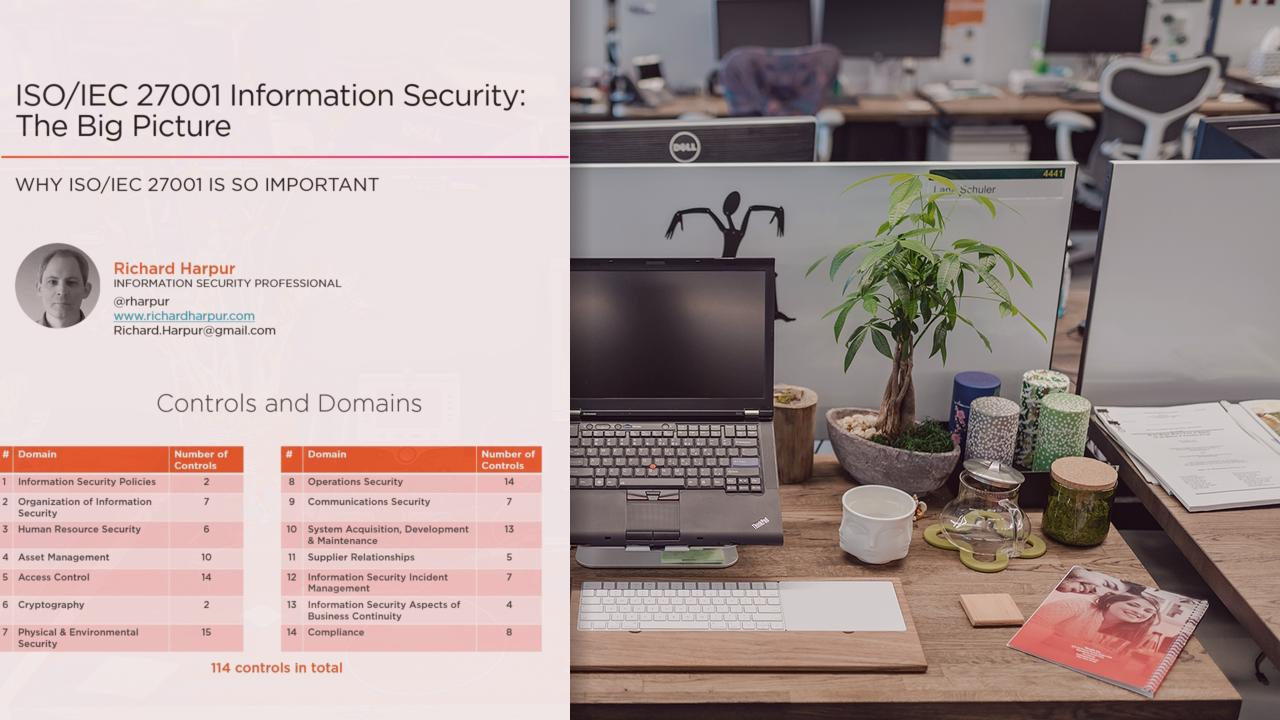 ISO/IEC 27001 Information Security: The Big Picture | Pluralsight