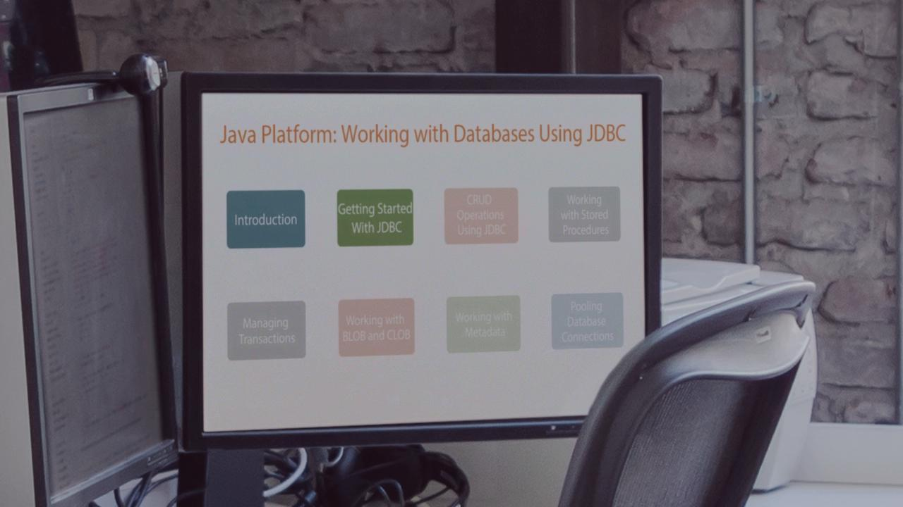 Java Platform: Working with Databases Using JDBC | Pluralsight