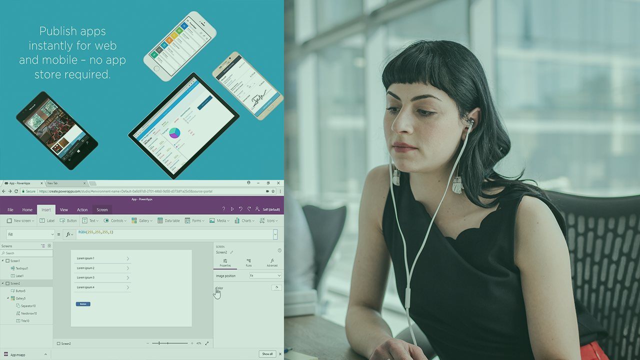 Line of Business Basics With PowerApps Development | Pluralsight