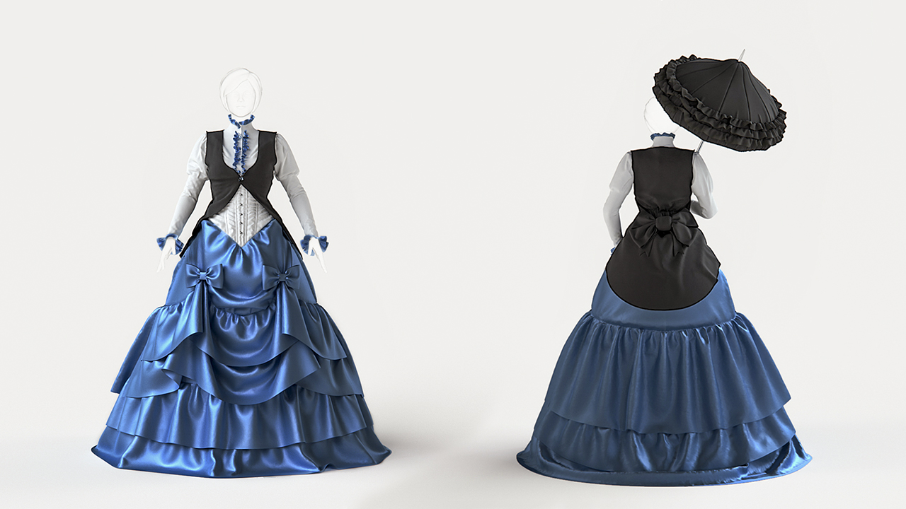 Creating a victorian style gown with marvelous designer How to design clothes for manufacturing