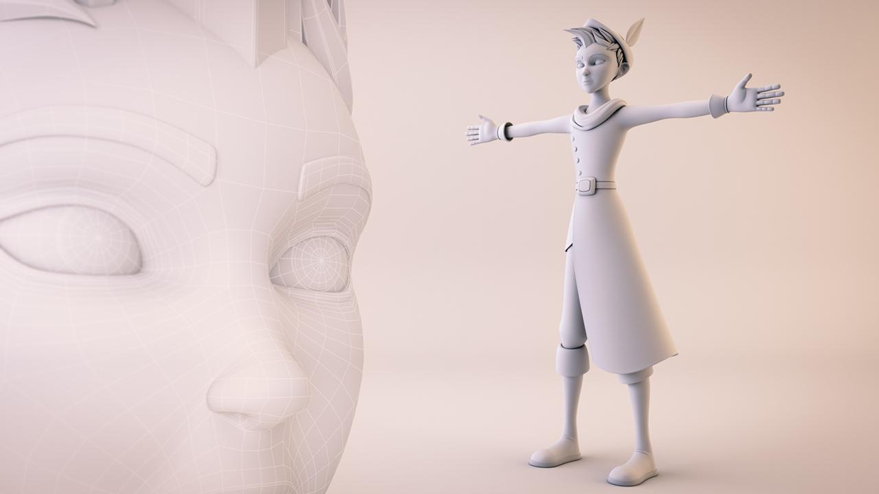 creating cartoon characters in maya pluralsight