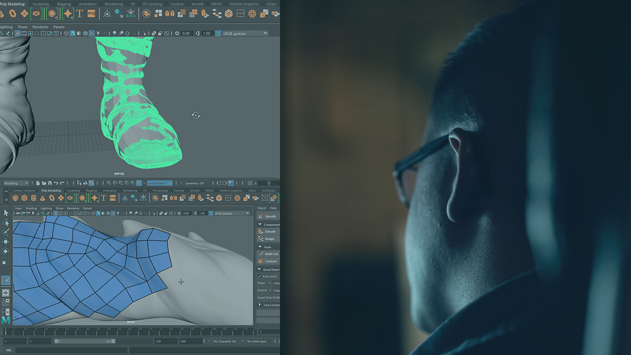 Retopologizing Game Characters in Maya | Pluralsight