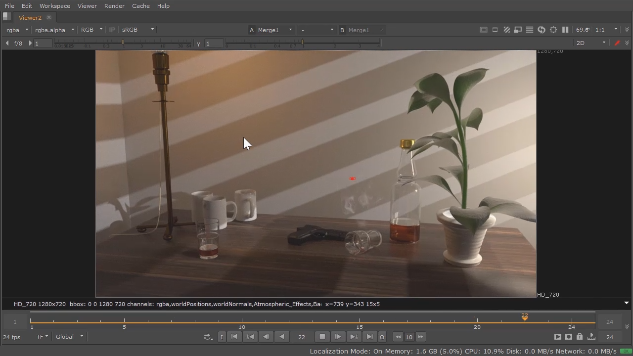 Multi-pass Rendering with V-Ray and Maya | Pluralsight