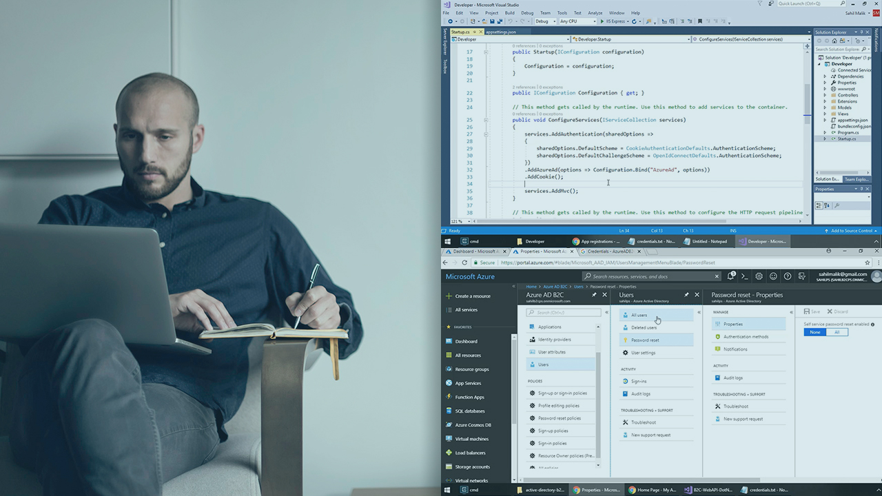 Microsoft Azure Authentication Scenarios for Developers | Pluralsight
