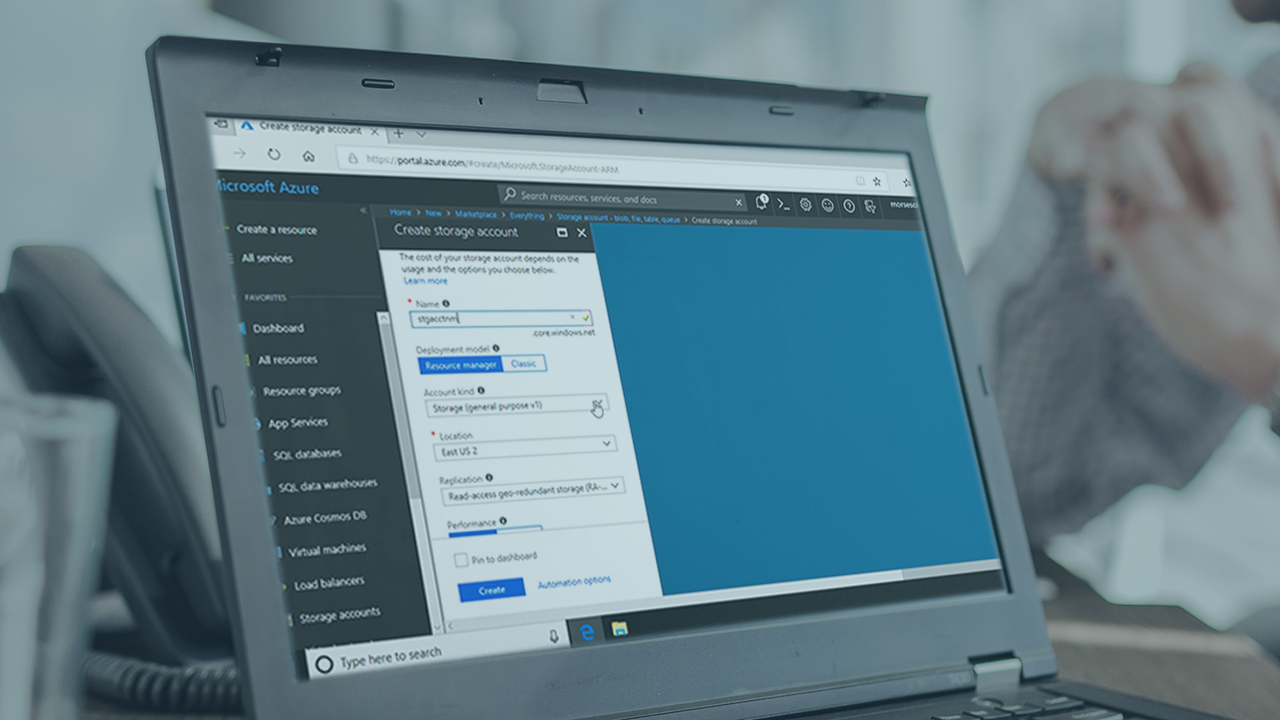 Creating and Configuring Microsoft Azure Storage Accounts   Pluralsight