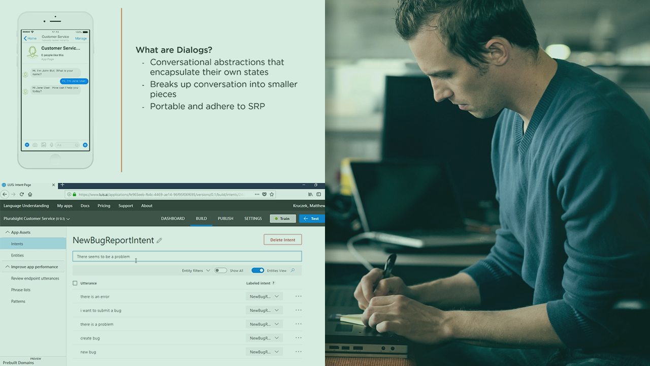 Using Microsoft Bot Framework To Create Chatbots | Pluralsight