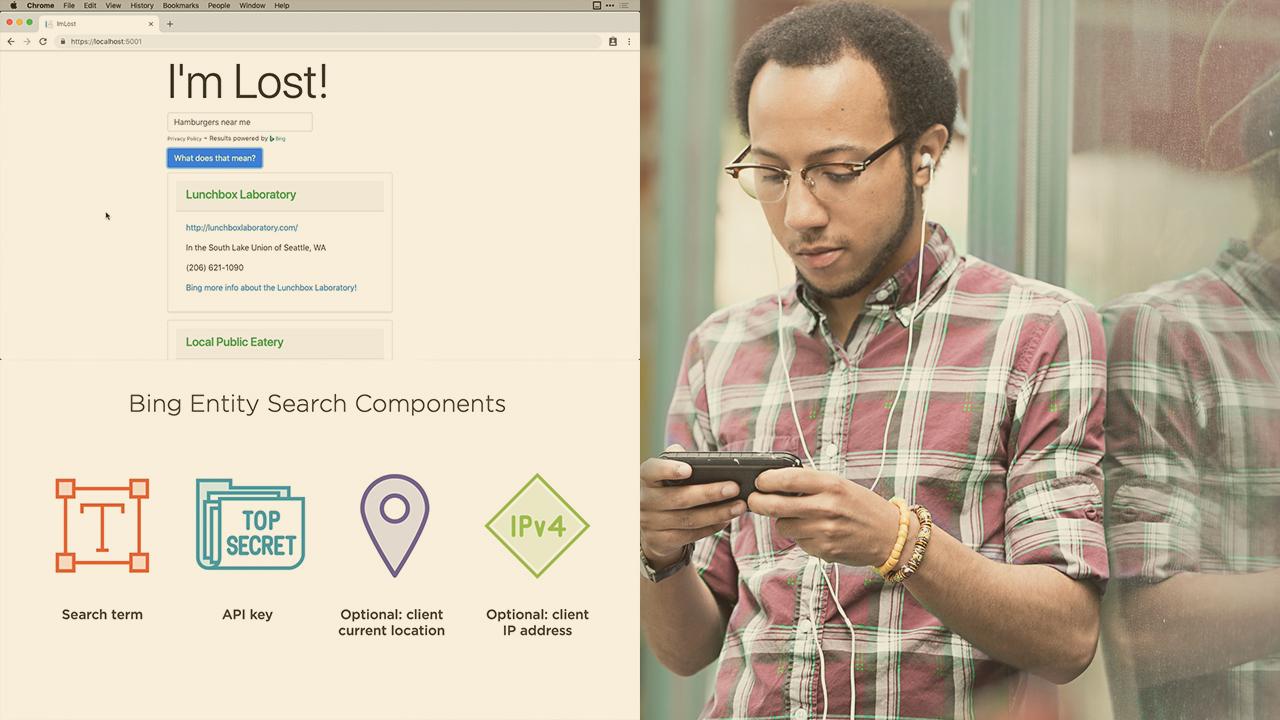 Microsoft Cognitive Services: Bing Entity Search | Pluralsight