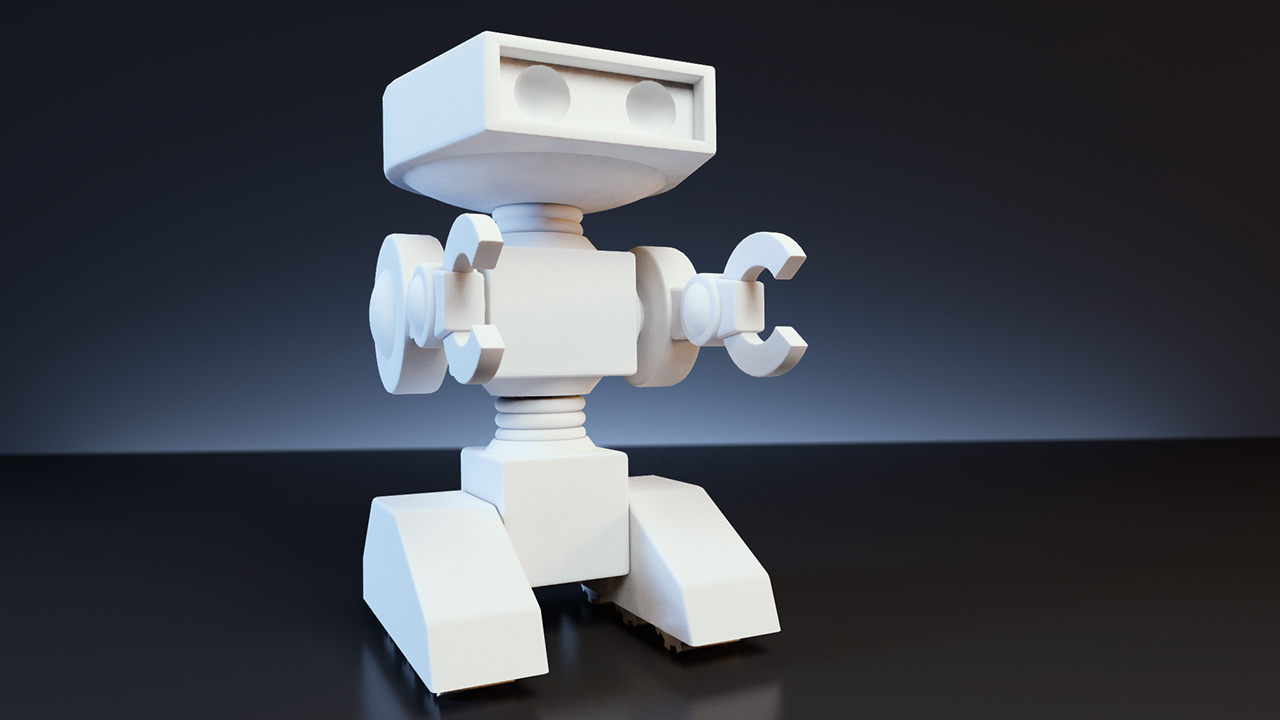 Modeling an Articulated Character for 3D Printing with Maya