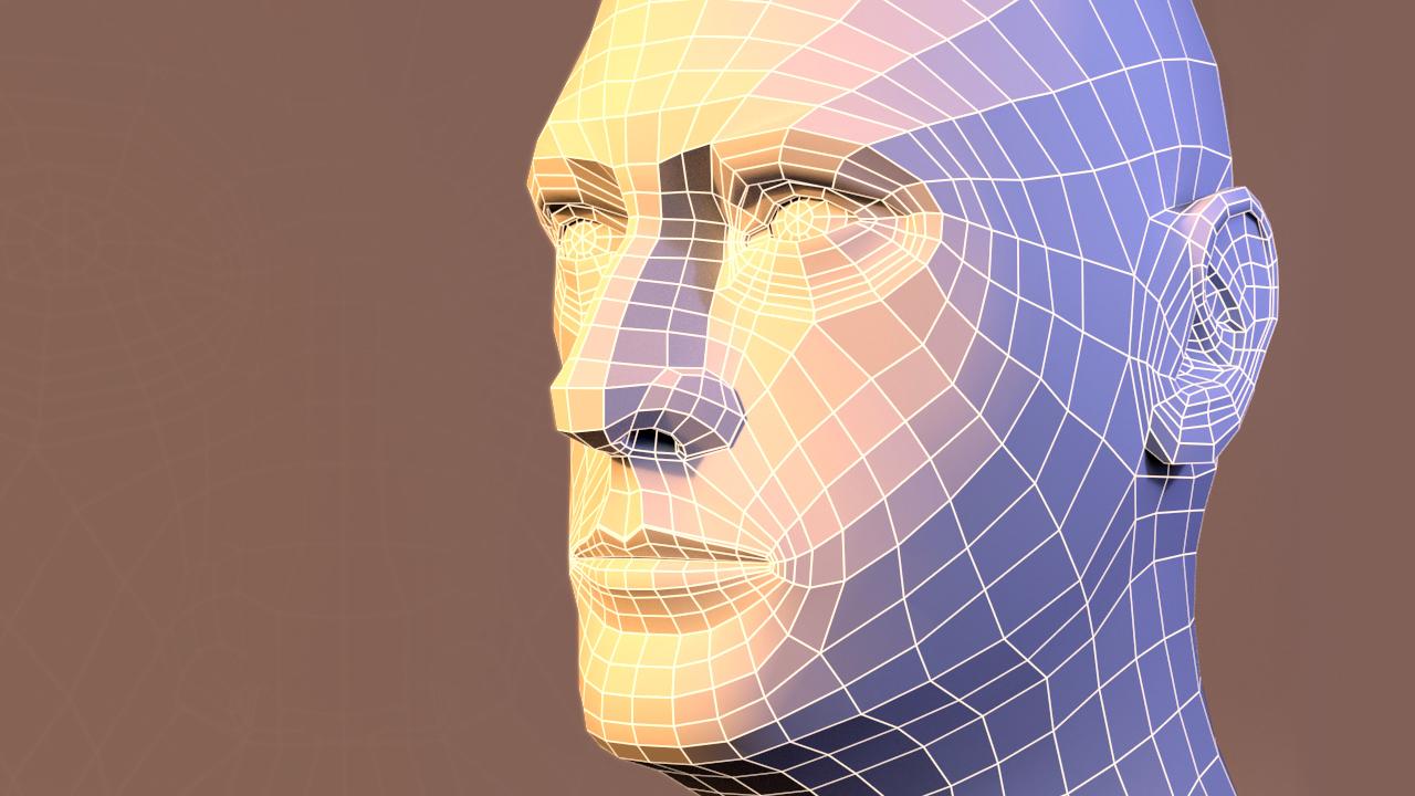 Modeling an Organized Head Mesh in Maya   Pluralsight