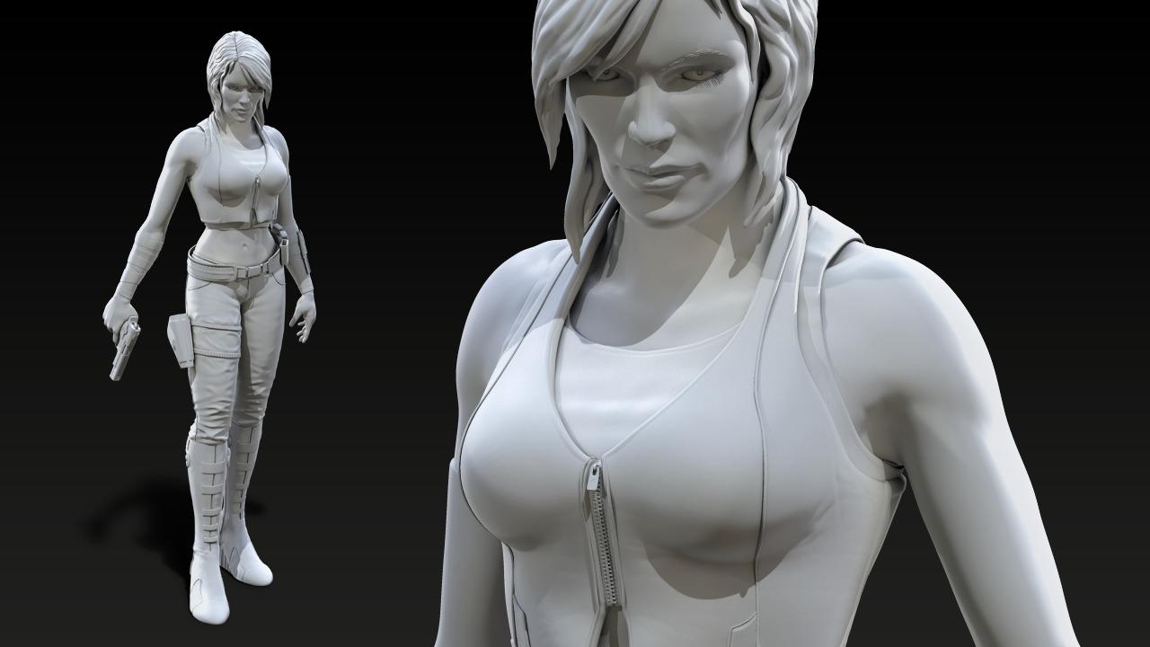 Female Character Zbrush