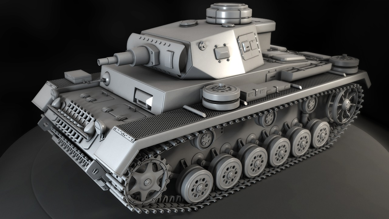 Modeling a high resolution tank in 3ds max pluralsight for 3ds max course